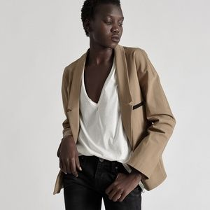 Free People Jackets & Coats - One Teaspoon | Chicago Dinner Jacket mocha blazer